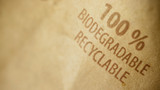 Disposing of biodegradable products