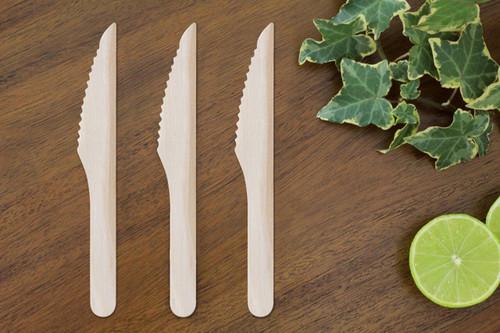 FOOGO Green wooden knives