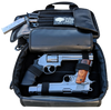 Deluxe Double Soft Tactical Pistol Case open top angle  with Smith & Wesson 686+ and Colt Government Model 1911 with extra magazines fit perfectly inside
