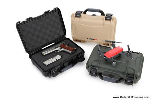 Nanuk 909 Waterproof TSA Safe case for Glock, 1911, SIG, Ruger, and MORE 3 color choices Black, Olive, Tan