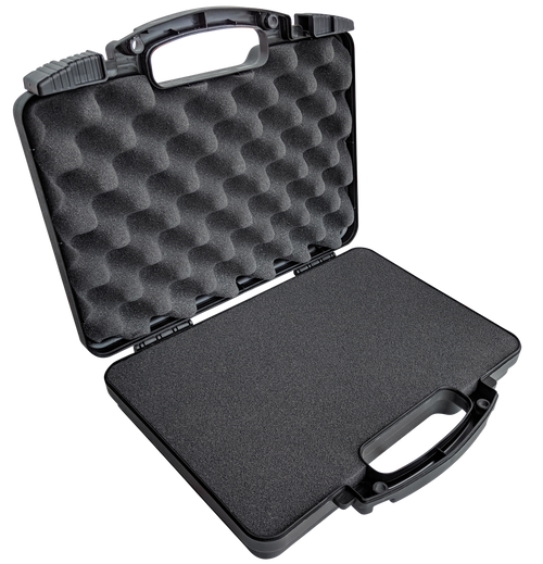 Pick & Pluck Pistol Case displaying its spacious interior with high-quality pick and pluck foam