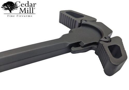 AR-15 Ambidextrous Charge Handle NEW and improved LATCH