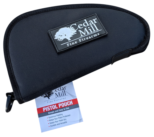 Gun Rug Pistol Case front image with morale patch