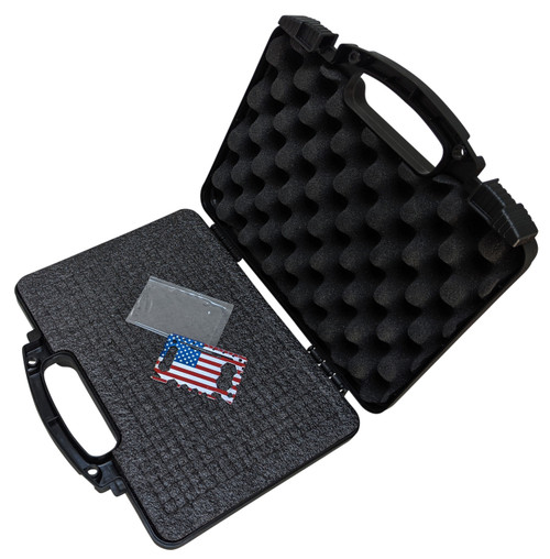 EPE Pick & Pluck Hard Pistol Case with high grade X-tool and double locking lugs for extra security.