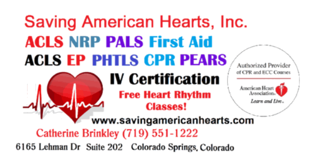 Saving American Hearts, Inc