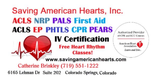 Saving American Hearts, Inc