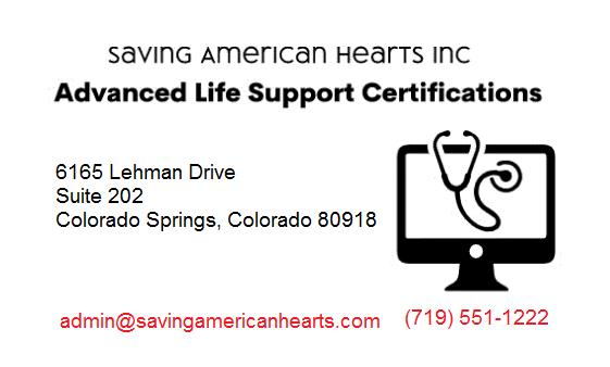 SAVING AMERICAN HEARTS INC