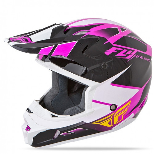 Fly Racing Kinetic Impulse -Pink/Black/White-