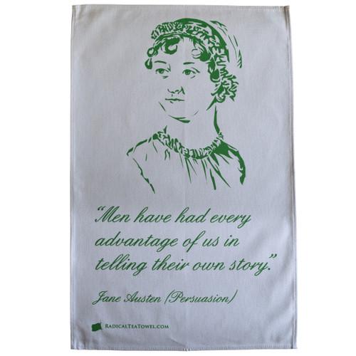 Jane Austen Tea Towel
