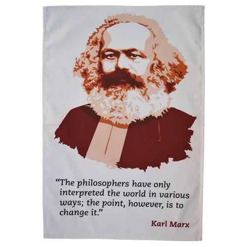Karl Marx Tea Towel