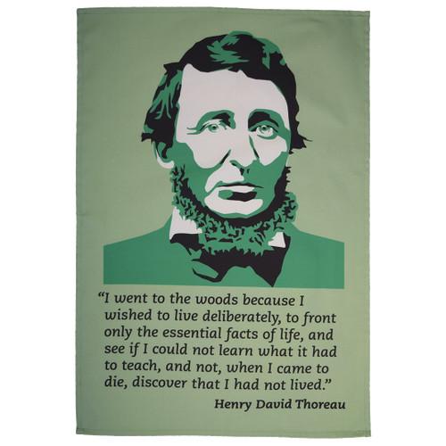 Henry David Thoreau Tea Towel