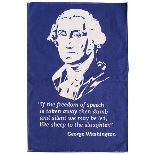 George Washington Tea Towel