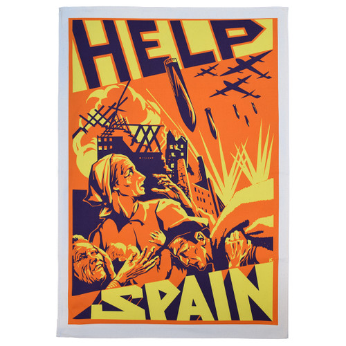 Spanish Civil War Tea Towel