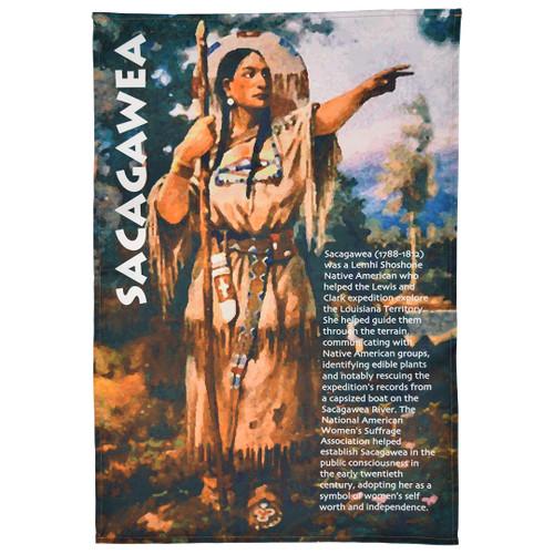Sacagawea Tea Towel