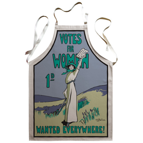 Votes for Women Wanted Apron