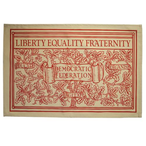 Liberty Equality Fraternity Tea Towel