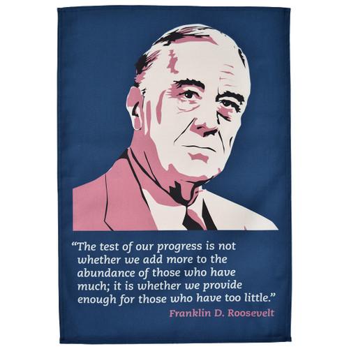 Franklin D Roosevelt Tea Towel