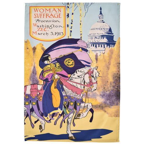Washington DC Suffrage Tea Towel