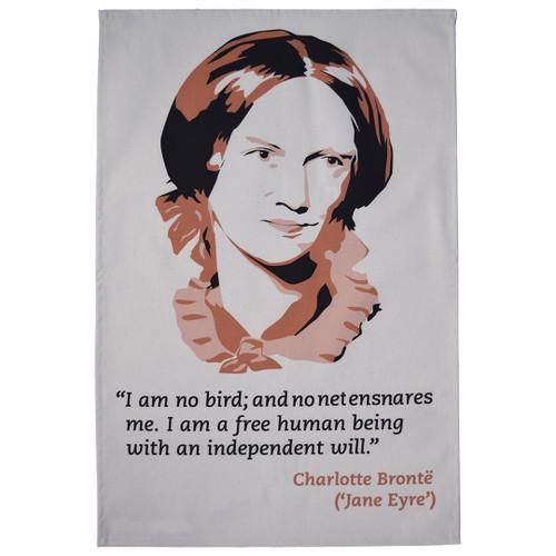 Charlotte Brontë Jane Eyre Tea Towel