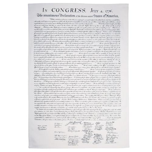 US Declaration of Independence Tea Towel