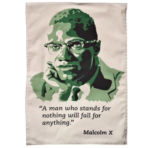 Malcolm X Tea Towel