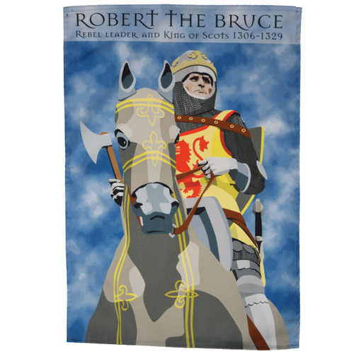 Robert the Bruce Tea Towel