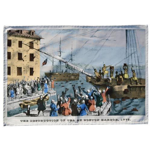 Boston Tea Party Tea Towel