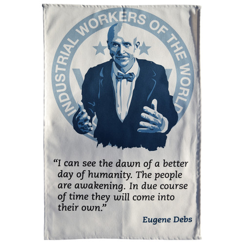 Eugene Debs Tea Towel