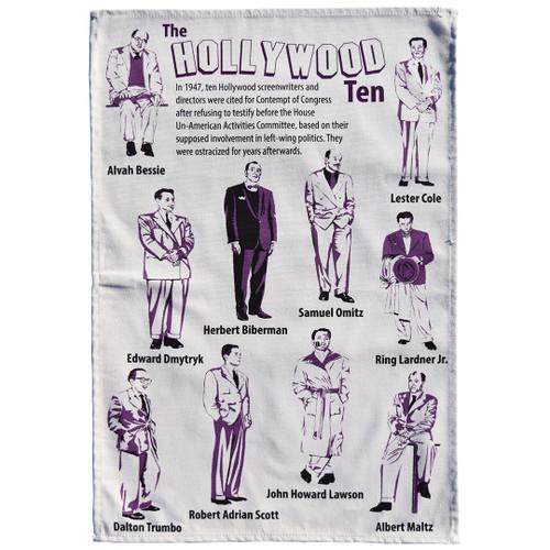 Hollywood Ten Tea Towel