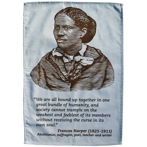 Frances Harper tea towel