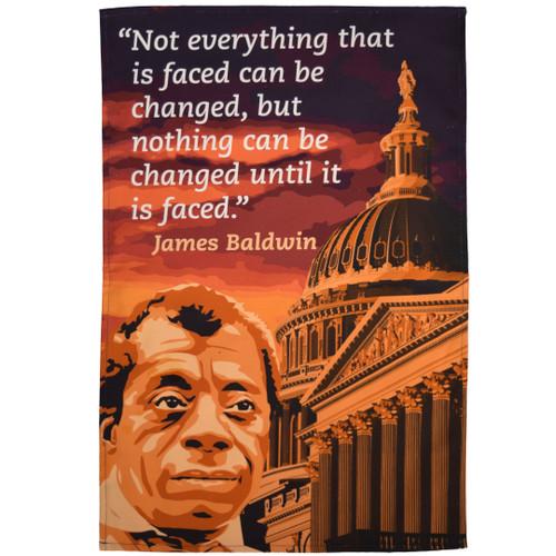 James Baldwin Tea Towel