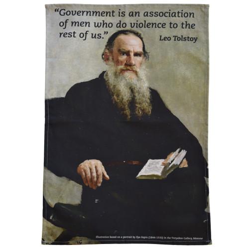 Leo Tolstoy Tea Towel