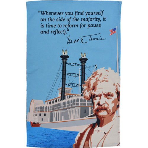 Mark Twain Tea Towel