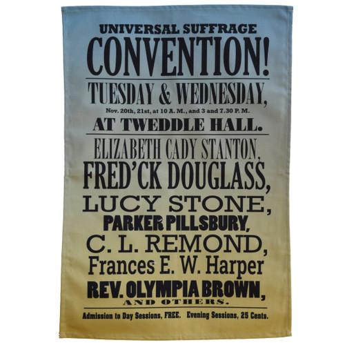 Seneca Falls Convention Tea Towel