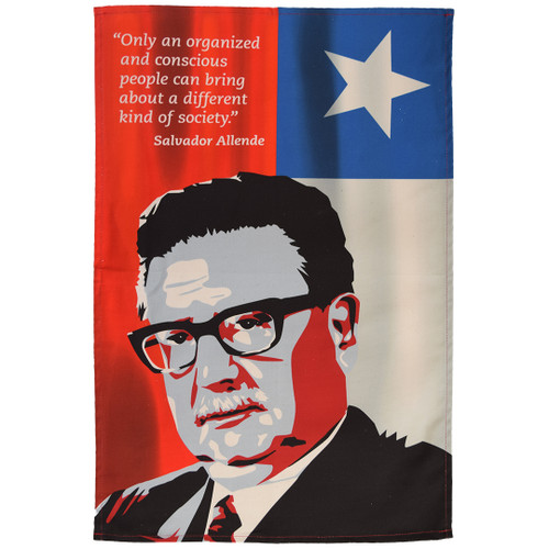 Salvador Allende Tea Towel