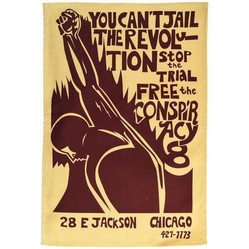 The Chicago 7 (Conspiracy 8) Tea Towel