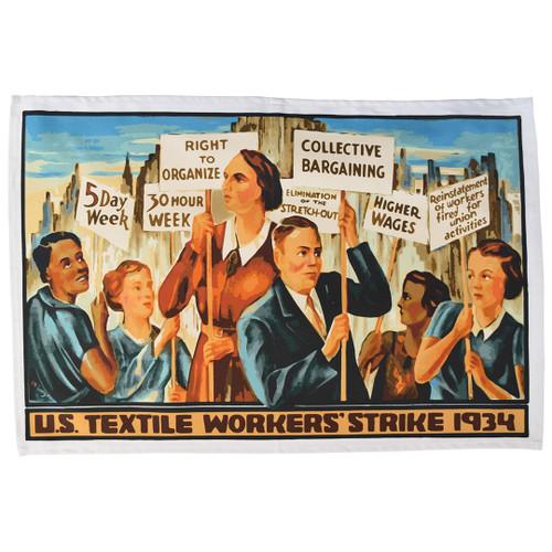 1934 Textile Workers' Strike Tea Towel