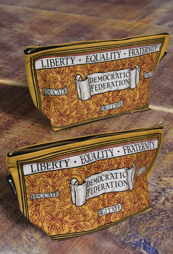 Liberty, Equality, Fraternity Toiletry Bag
