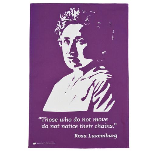 Rosa Luxemburg Tea Towel