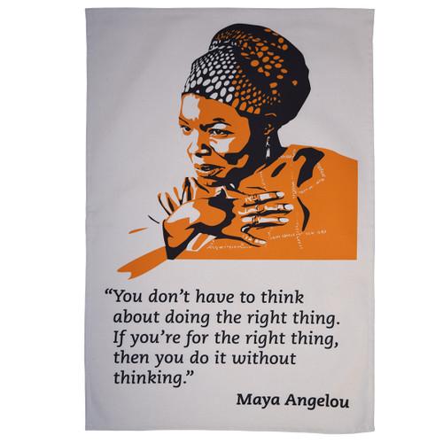 Maya Angelou Tea Towel