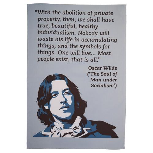 Oscar Wilde Tea Towel