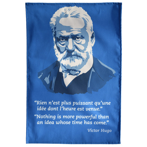 Victor Hugo Tea Towel