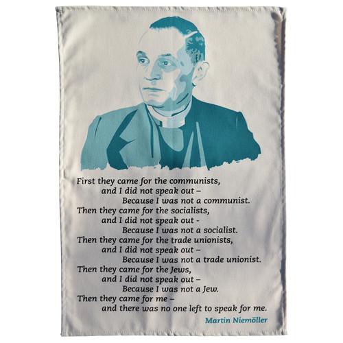 Martin Niemöller Tea Towel