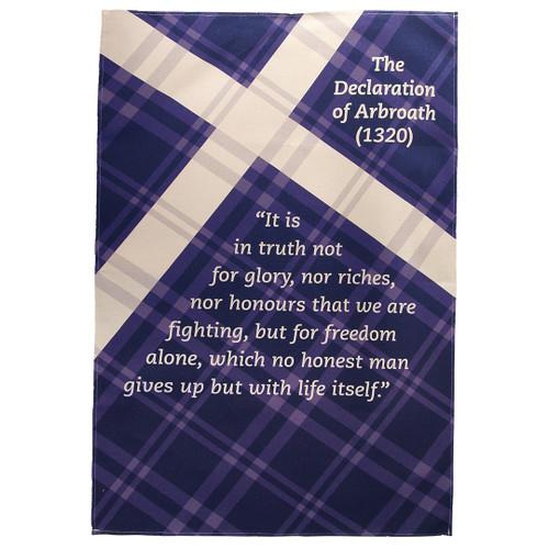 Declaration of Arbroath Tea Towel