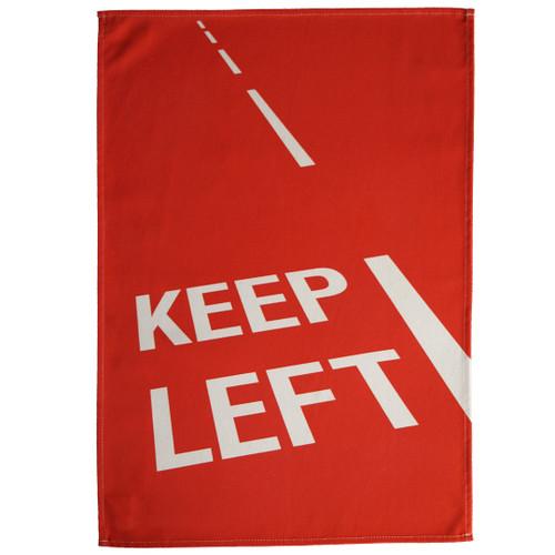 Keep Left Tea Towel