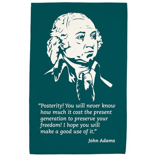 John Adams Tea Towel
