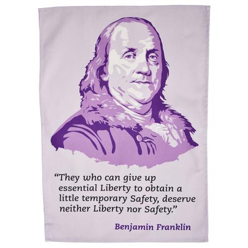 Benjamin Franklin Tea Towel