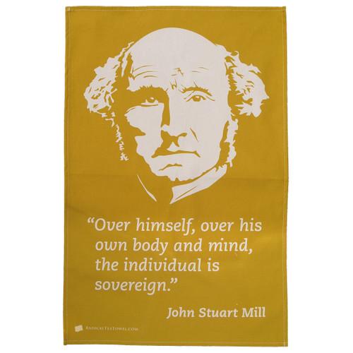John Stuart Mill Tea Towel