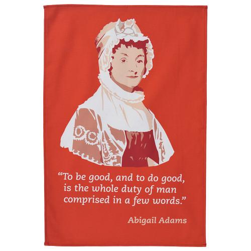 Abigail Adams Tea Towel
