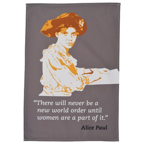 Alice Paul Tea Towel